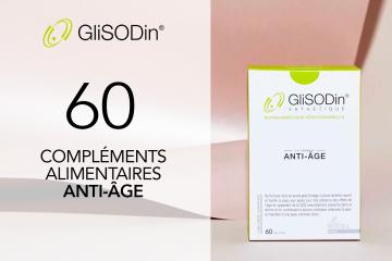 60 GliSODin Anti-Âge de GliSODin à tester