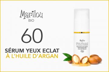 60 Sérum Yeux Éclat de Marilou Bio à tester