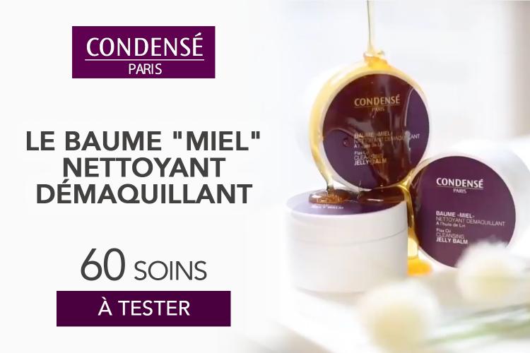 60 BAUME MIEL NETTOYANT DEMAQUILLANT de Condensé Paris à tester