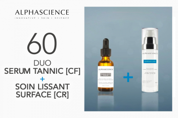 DUO TANNIC [CF] SERUM    SURFACE [CR] d'ALPHASCIENCE à tester