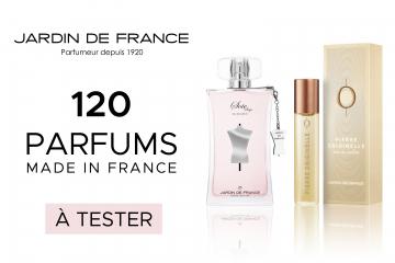 60 parfums Pierre Originelle de Jardin de France à tester