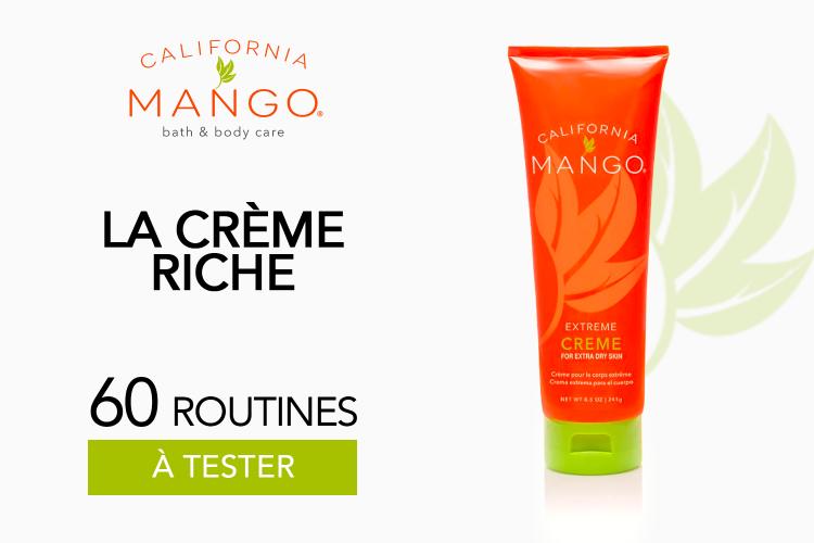 Crème Riche à la Mangue de California Mango - 60 produits à tester