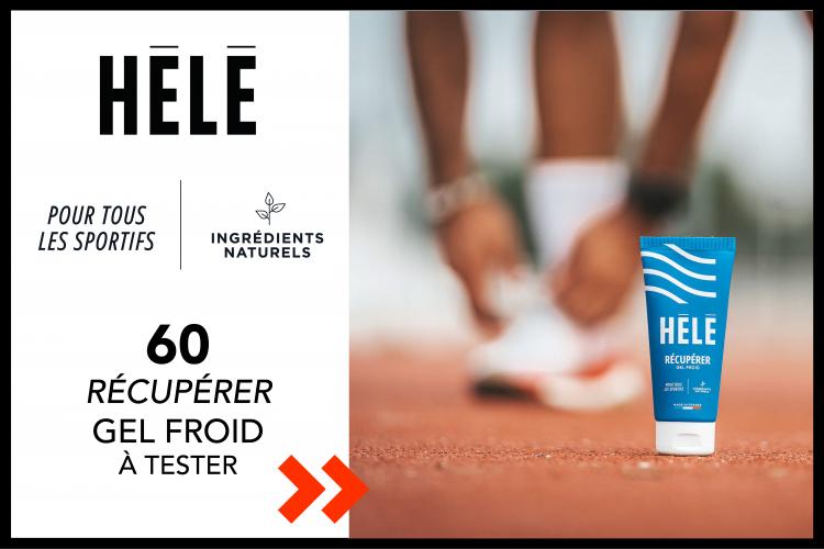 Gel Froid RÉCUPÉRER de HĒLĒ- 60 produits à tester