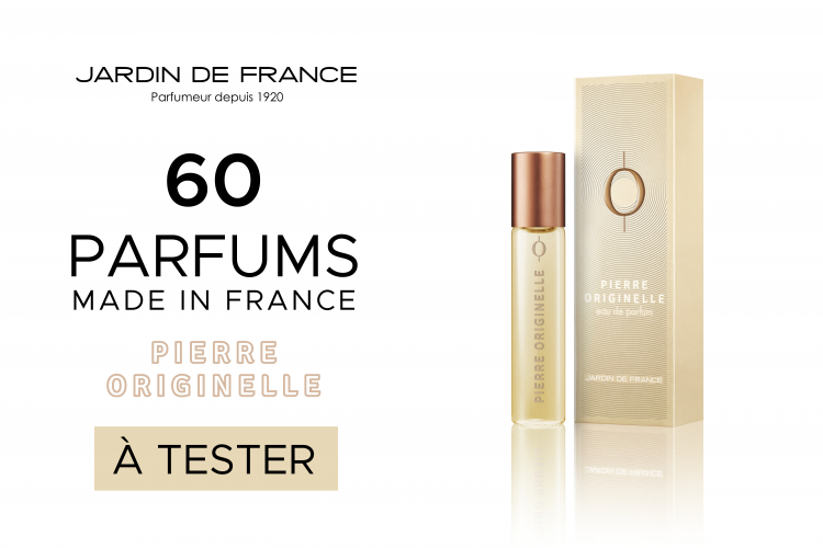 60 parfums Pierre Originelle de Jardin de France à tester