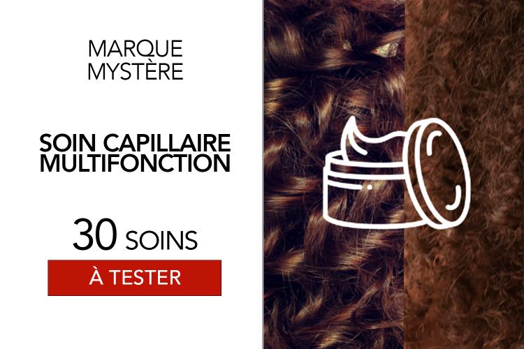 Soin capillaire multifonction d'une marque mystère - 30 soins à tester !