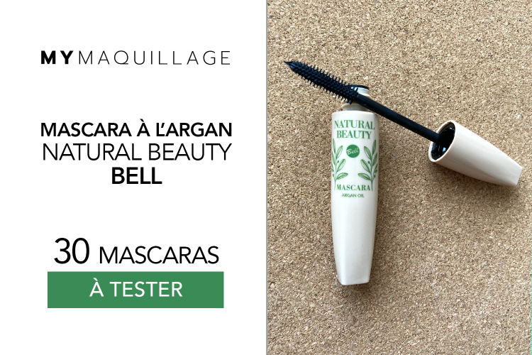 Mascara à l'Argan Bell Natural Beauty de MY Maquillage : 30 produits à tester !