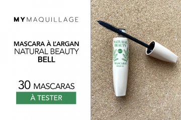 Mascara à l'Argan Bell Natural Beauty de MY Maquillage : 30 produits à tester !