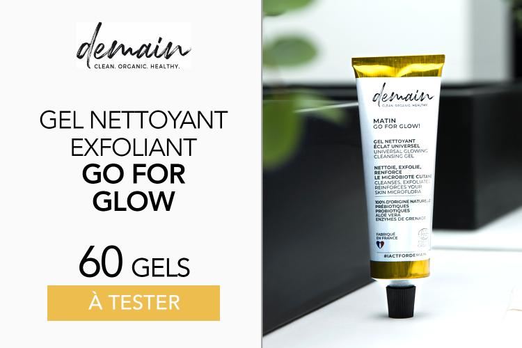 Gel nettoyant Visage Go For Glow de DEMAIN BEAUTY - 60 produits à tester