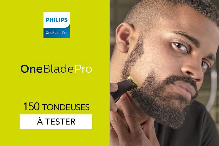 Tondeuse Philips OneBlade Pro - 150 OneBlade Pro à tester