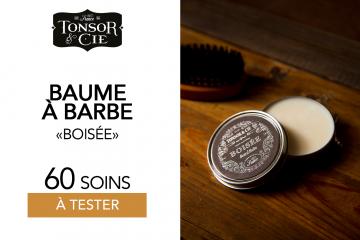 BAUME À BARBE BOISÉE DE TONSOR & CIE - 60 BAUMES À TESTER