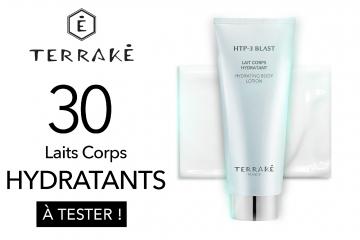 30 Laits Corps Hydratants de TERRAKÉ à tester