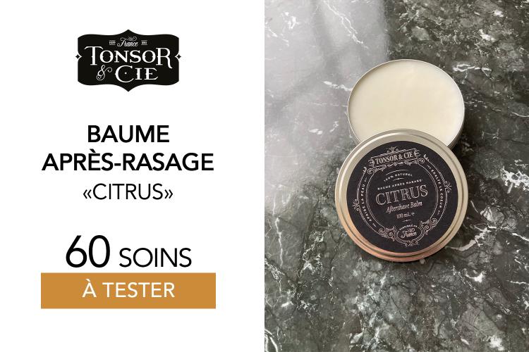 After Shave Citrus de TONSOR & CIE - 60 Baume après rasage À TESTER