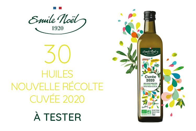 30 Nouvelle Récolte Cuvée 2020 de Emile Noël à tester