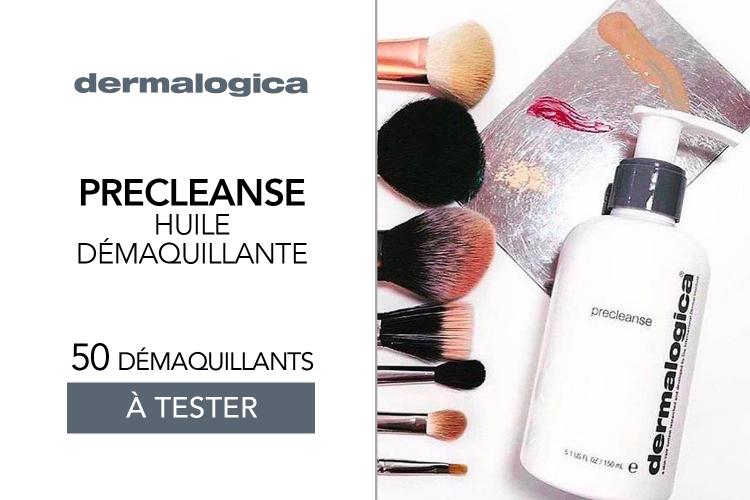 Huile démaquillante Precleanse de Dermalogica : 50 soins à tester !