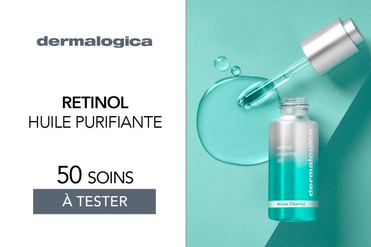Huile purifiante Retinol Clearing Oil de Dermalogica : 50 soins à tester !