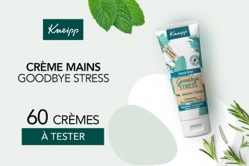 Crème mains Goodbye Stress : 60 crèmes à tester !