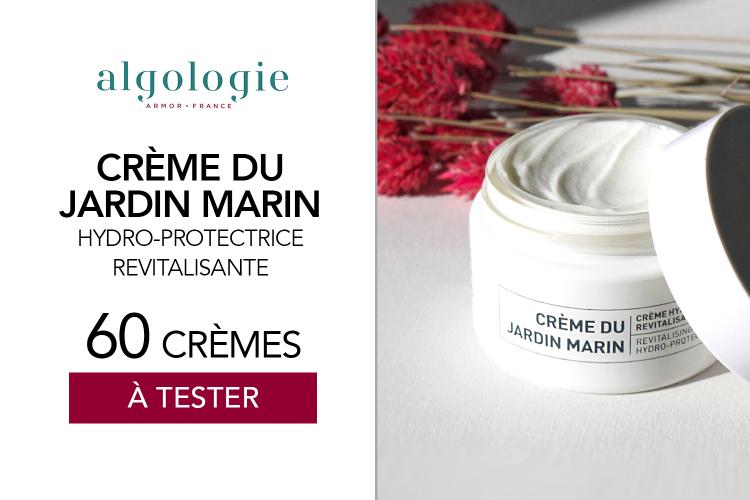 60 Crème du Jardin Marin - Crème Hydro-protectrice de Algologie à tester