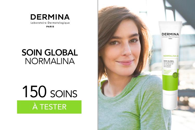 150 Soin Global Normalina de Dermina à tester