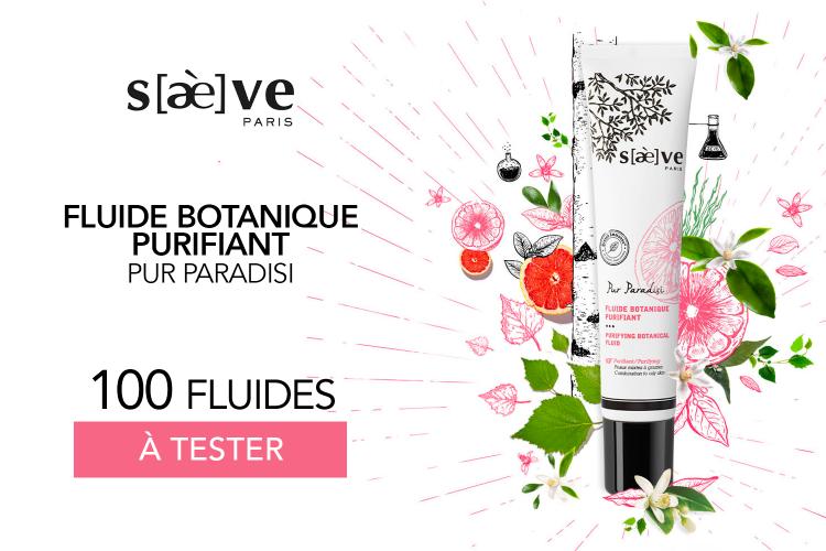100 Fluides Botaniques Purifiant - Pur Paradisi de Saeve à tester