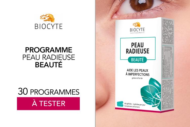 30 Peaux Radieuses de Biocyte à tester