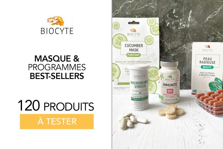 120 produits de chez Biocyte à Tester !