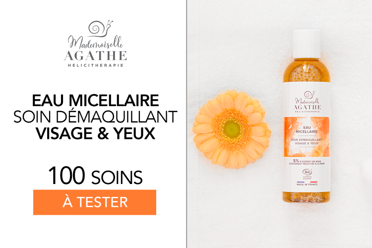 Eau Micellaire Mademoiselle Agathe : 100 soins à tester !