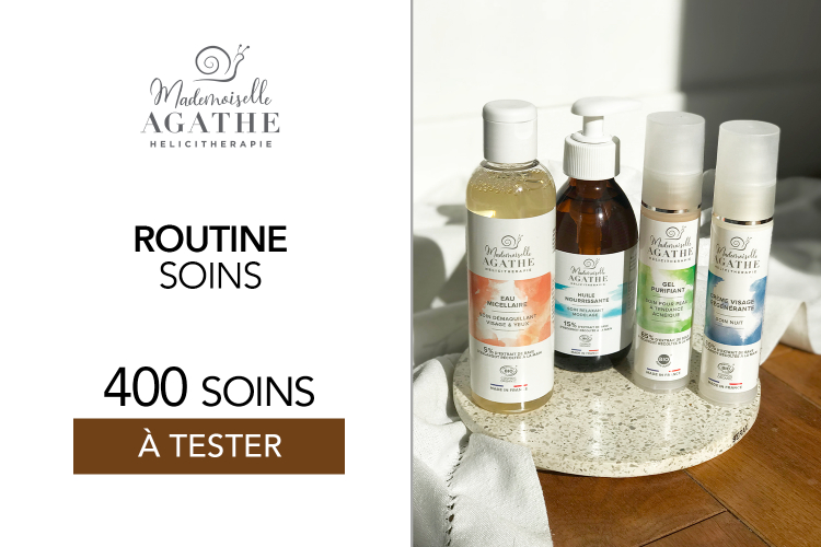 Soins Mademoiselle Agathe : 400 produits à tester !