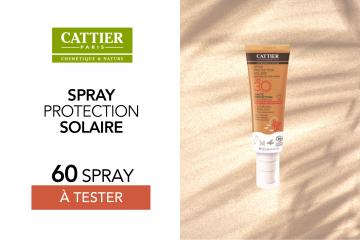 Soin solaire SPF 30 de Cattier : 60 soins à tester !