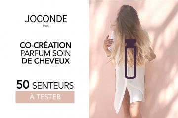 Signature olfactive des soins Joconde : devenez co-créatrice d'un produit unique !