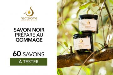 Savon noir à l'huile d'olive et eucalyptus de Nectarome : 60 produits à tester !