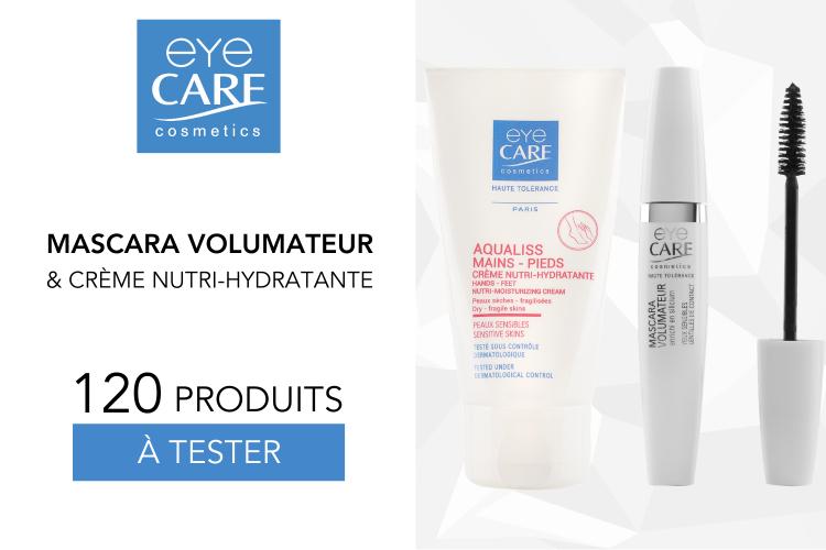 Mascara Volumateur et Crèmes Nutri-Hydratante: 120 produits à tester