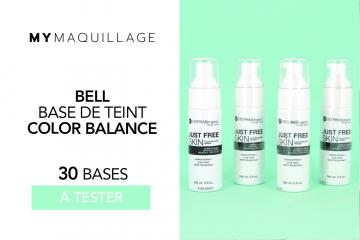 50 Bases de Teint Color Balance Bell de chez MY MAQUILLAGE à tester !