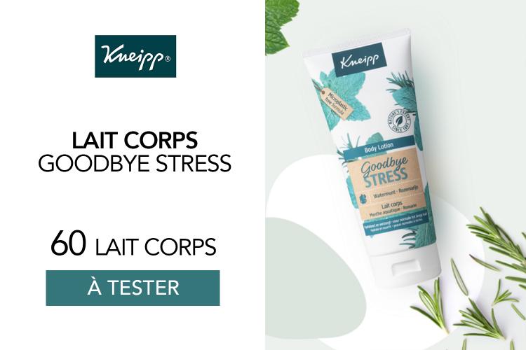 60 Laits corps Goodbye Stress à tester !