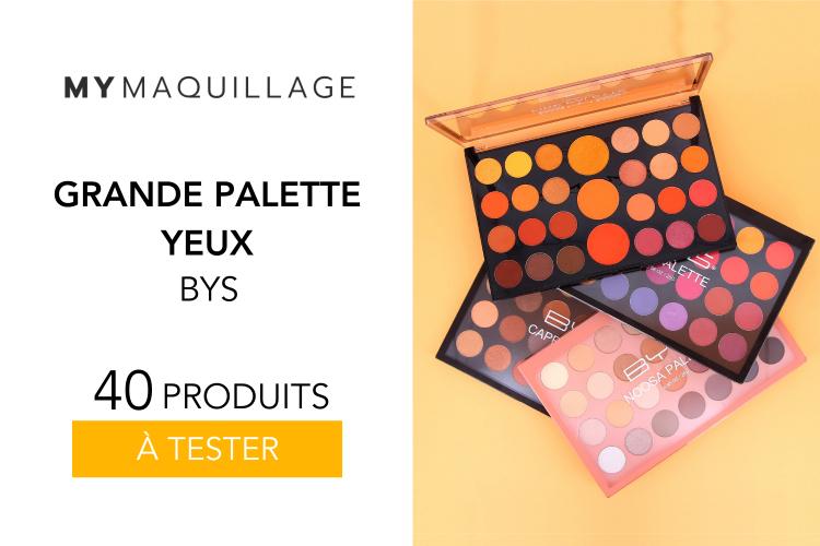 40 Grandes Palettes Yeux - BYS
