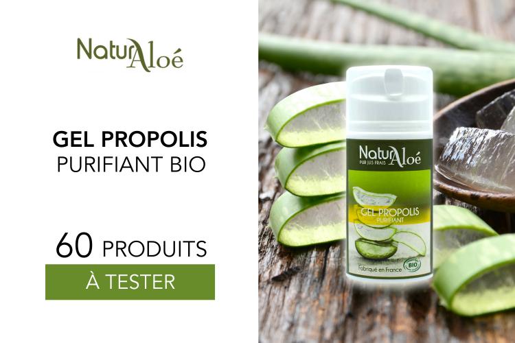 60 Gels Propolis Purifiant Bio de NaturAloé