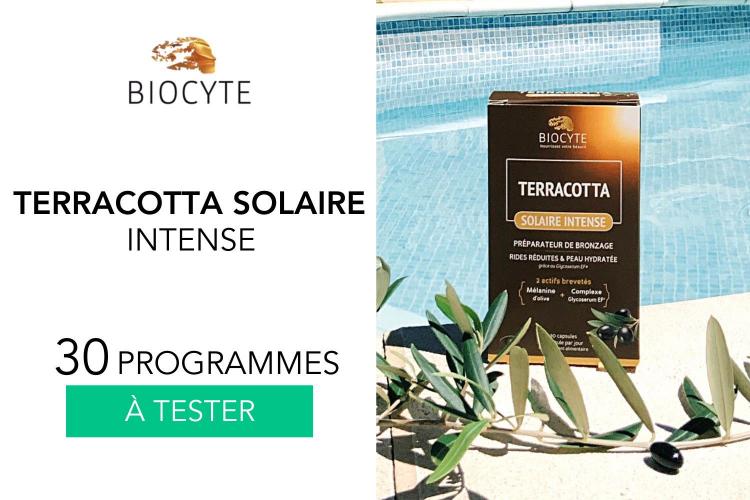 30 Terracotta Solaire Intense Biocyte à tester