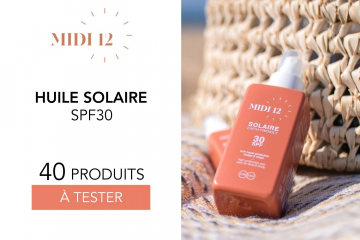 Huile protectrice solaire SPF 30