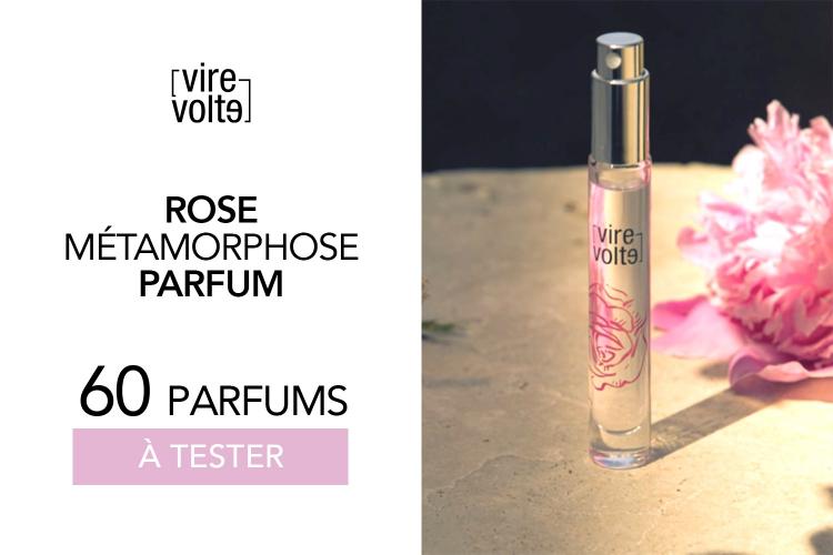 60 Parfums Rose Métamorphose