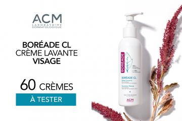 Boréade CL Crème Lavante : 60 crèmes à tester !