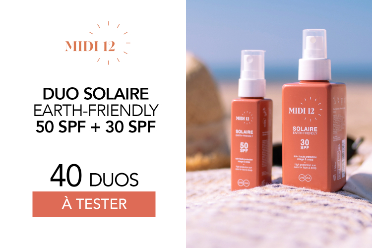 Duo Huiles protectrices solaires SPF 30 et SPF 50 : 40 duos à tester !