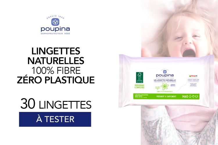 Lingette naturelle Fibres zéro plastique - 100% Naturelles : 30 lots à tester !