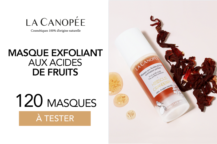 Masque exfoliant aux acides de fruits : 120 masques à tester !