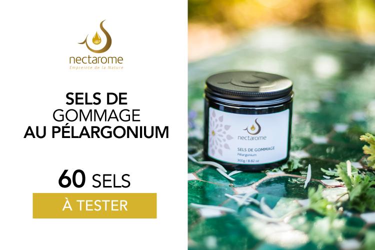 Sels de gommage Pélargonium : 60 produits à tester !