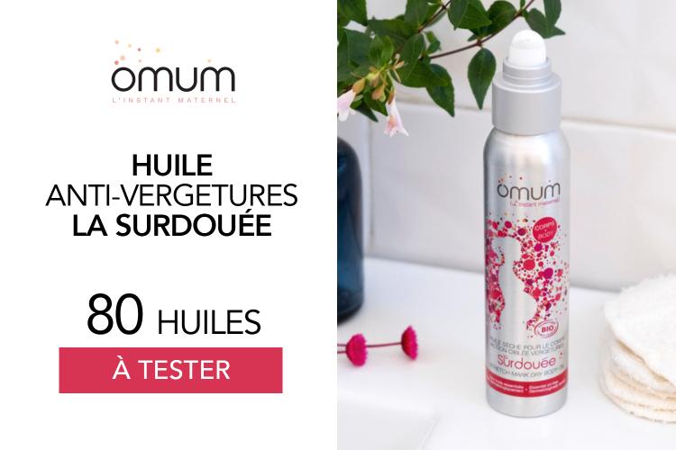 Huile Anti-Vergetures La Surdouée : 80 huiles à tester !