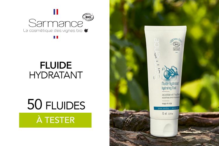 Fluide Hydratant Vignes Bio : 50 fluides à tester !