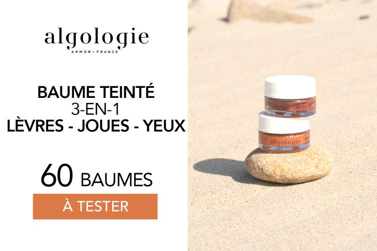 Baume Teinté 3-en-1 d'Algologie : 60 baumes à tester !