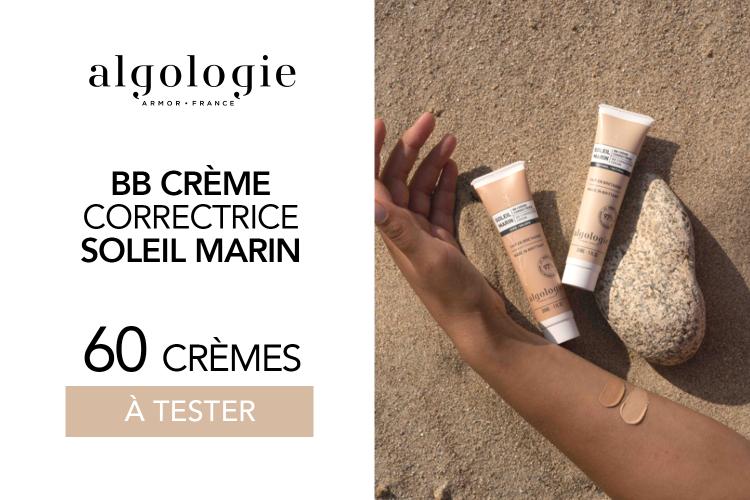 BB Crème Correctrice d'Algologie : 60 BB Crèmes à tester !
