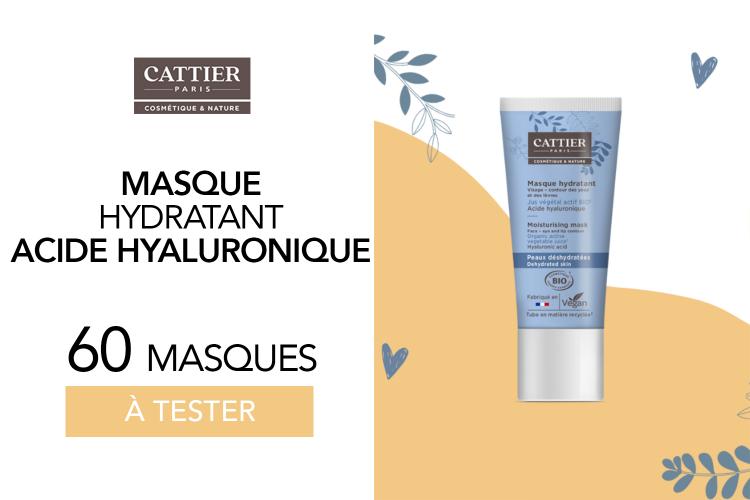 Masque Hydratant de Cattier : 60 masques à tester !