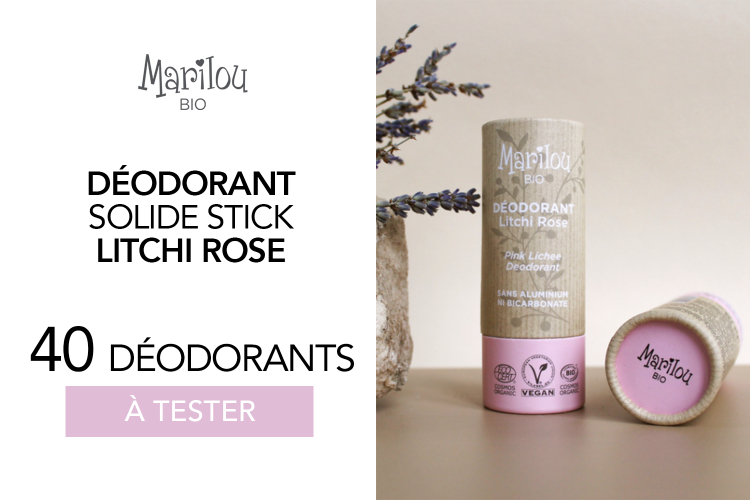 Déodorant Stick Solide de Marilou Bio : 40 déodorants à tester !