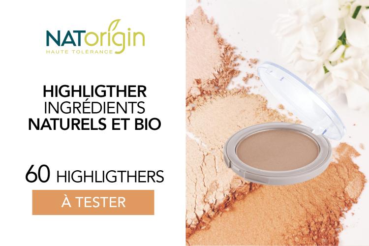 Le Highlighter de NATorigin : 60 highlighters à tester !